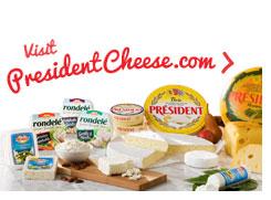 Visit PresidentCheese.com