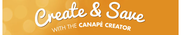 Create & Save with the Canapé Creator